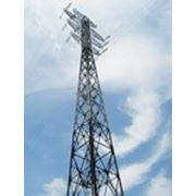 Опоры ЛЭП решетчатые напряжением от 35кВ и выше фото