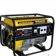 Бензиновый генератор SPG6500, 5,5кВт, ручной старт фото