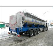 Полуприцеп-цистерна марки ОПП-24Р для перевозки пищевых жидкостей, объемом до 30 000 литров. фото