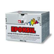Двухкомпонентная эпоксидная краска для бетона EPOKSIL фото