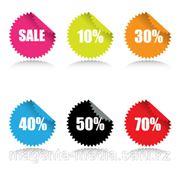 Печать этикеток и стикеров (50 x 50 мм) фото