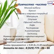Химчистка ковров, мебели Барановичи фото
