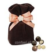 Драже макадамия в горьком шоколаде Сладкий сюрприз В.ДМ10.150-910 для любимых фото
