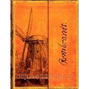 "Записная книжка Paperblanks (Ultra) ""Рембрандт, Ветряная мельница"" / ""Rembrandt, Windmill"" фото"
