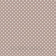 Ткань Тильда Star Grey Brown. фото