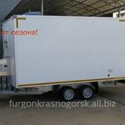 Прицеп-фургон коммерческий Рефрижератор модель 3793Т1 фото