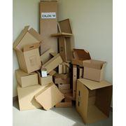 Ящики из гофрированного картона фото
