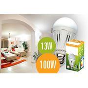 Светодиодная лампа E27 13W/1050Lm фото