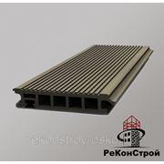 Террасная доска Террадек Эко/Terradeck Eco, Серый фото