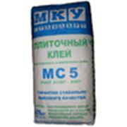МКУ клей плиточный. фото