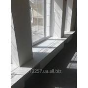 Подоконники из искусственного камня фото