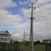 Опоры железобетонные для линий электропередач фото