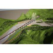 Металлоконструкции для строительства совмещенных мостов фото