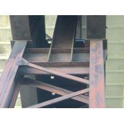 Металл после демонтажа здания фото
