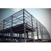 Металлокаркас зданий фото