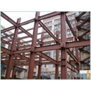 Металлоконструкции для строительства зданий сооружений фото