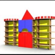 """Мебель для детских садов, яслей Детская стенка """"Крепость 2"""""""