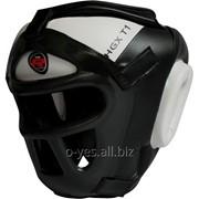 Боксерский шлем тренировочный RDX Guard White фото
