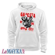 Толстовки спортивные Gangsta in da apple city фото