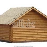 Изготовление деревянных домиков фото