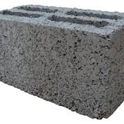 Блок бетонный облицовочный фото