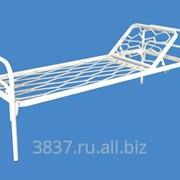 Кровать металлическая полутороспальная К.М.Ф.1-9-1. фото