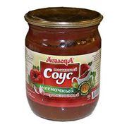 Соус томатный чесночный фото