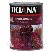 Грунт-эмаль по ржавчине Ticiana 0,9л (1кг) фото