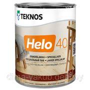 Лак для дерева HELO 40 (полуглянец), 0.9л, TEKNOS