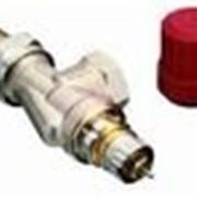 Радиаторный терморегулятор угловой, никелированный 10 Арт. 013G0011 фото