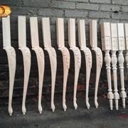 Резные ножки для мебели, кабриоль фото