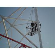 Технический осмотр вышек и башен связи фото