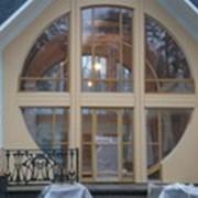 Арочное окно фото
