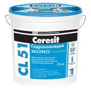 Эластичная гидроизоляционная мастика Ceresit CL 51/5. фото
