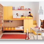 Детская мебель, молодежная мебель, изготовление на заказ, фасады ДСП, МДФ, различные цвета фото