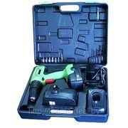 Шуруповерт аккумуляторный IVT CSD-16,8 BMC - 2 АКБ, 2-х скоростной, КЕЙС, набор принадлежностей фото