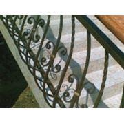 Перила из разных материалов фото