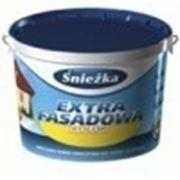 Краска акриловая для фасадов EXTRA FASADOWA белая, Sniezka 1л купить в Минске. Доставка. Цена