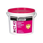 Ceresit CT 42 акриловая краска фасадная фото