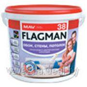 Краска ВД-АК-2038 белая FLAGMAN 38 (1,4 кг) фото