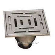 Трап сливной горизонтальный Caliente HK-А 20х20 см. фото