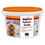 Краска акриловая фактурная Alpina Fakturfarbe 200 Base 1 15кг фото