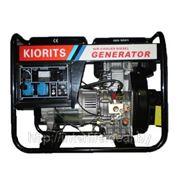 Электростанция дизельная Kiorits DV 6000 CL 5,5 кВт фото