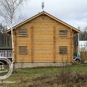 Строительство домов из дерева Д-12 фото