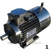 Электродвигатели серии 5АИ с электромагнитным тормозом 5АИ 63А... Е (Е2) фото