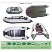 Надувная лодка ПВХ Велес 03/330 фото