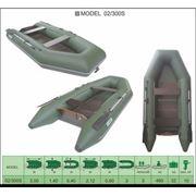 Надувная лодка ПВХ Велес 02/300S фото