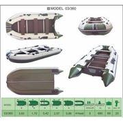 Надувная лодка ПВХ Велес 03/360 фото