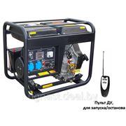 Электрогенератор дизельный DG7500LE фото