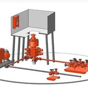 Монтаж оборудования по предупреждению и ликвидации открытых газовых и нефтяных фонтанов фото
